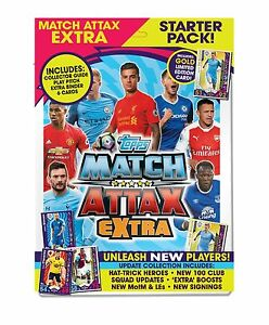 Topps Match Attax Premier League Extra Starter Pack 2016/17 Album/6 Card/LE Card