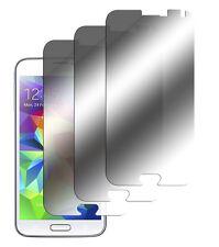 3 x Samsung Galaxy S5 Spiegelfolie Displayschutz Folie Mirror Screen Protector
