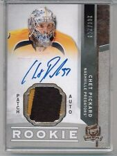 12/13 Upper Deck The Cup Chet Pickard Rookie Patch Auto RC #'ed 200/249