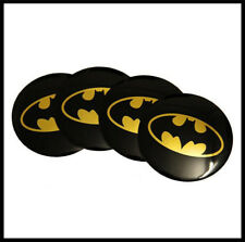 4 x Stickers 56mm Batman Wheel Centre Cap Sticker Logo Emblem Top Quality