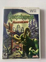 Goosebumps HorrorLand (Nintendo Wii, 2008)