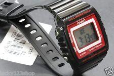 W-215H-1A2 Black 50m Casio Watch Unisex Digital Alarm Chronograph Resin Band New