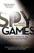 Spy Games by Adam Brookes (Hardback, 2015)