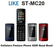 SAIET LiKE ST-MC20 cellulare gsm 4Band Radio foto FLIP ATTIVO torcia bluetooth B