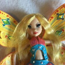 Winx Club Sing And Sparkle Enchantix Doll Stella In good condition