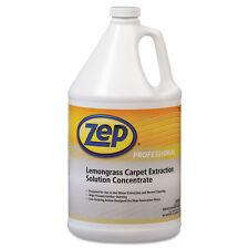 Zep Professional Carpet Extraction Cleaner Lemongrass 1gal Bottle 1041398Ea