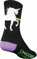 SockGuy Unicorn Express Sock Black S/M