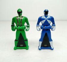 Bandai Power Ranger Keys Green Ranger And Blue Ranger Toy