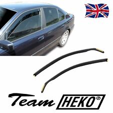 BMW 5 SERIES E39 1995-2003 SET OF FRONT WIND DEFLECTORS HEKO TINTED 2pc