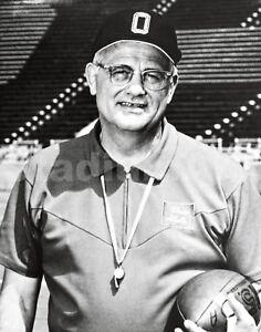 Woody Hayes Ohio State NCAA Football Buckeyes CHOICES 8x10 Photo - 40x30 Canvas