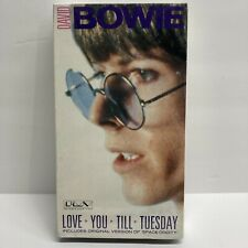 David Bowie Love You Till Tuesday VHS 69 Space Oddity 1984 Factory Sealed IGS