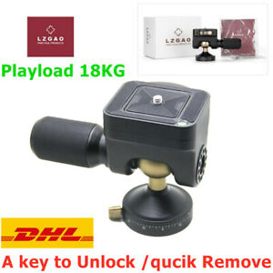LZGAO M325 Quick Release 360° Panoramic Tripod Ball Head For Camera SLR 18KG