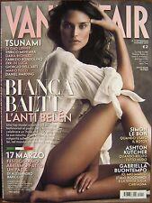 Vanity Fair-'11-BIANCA BALTI,Ashton Kutcher,Bernard Madoff,Duran Duran,Lagerback