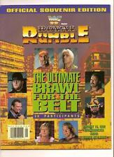 wwf 1992 Royal Rumble Offical Program PPV WWE