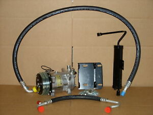 NEW AC COMPRESSOR CONVERSION KIT 1968 FORD MUSTANG V8