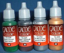 Vallejo Juego Color Paint-Guerras Napoleónicas Set #2 - 4 X 17ml botellas. DF52