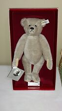 "Vintage RICHARD STEIFF 1902 Replica Teddy Bear 12"" MIB & Signed"