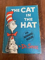 The Cat in the Hat For Beginning Readers by Dr. Seuss Vintage 1957