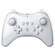 White Bluetooth Pro Controller Gamepad Remote Joypad For Nintendo Wii U console