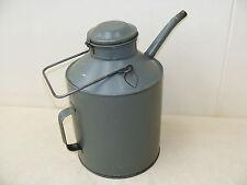 old Oil can 10 l Minol Petrol station cup bucket Werstatt Classic car