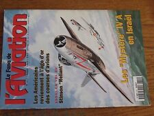 $$$ Revue Fana de l'aviation N°311 Courses d'avionsStinson ReliantMystere IV