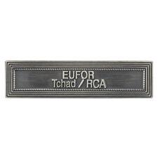Agrafe pour médaille Ordonnance EUFOR TCHAD RCA  R.C.A République Centrafricaine