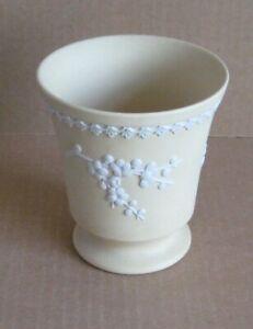 Wedgwood Jasperware Yellow Post Vase