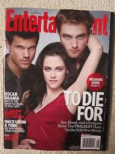 Entertainment Weekly Magazine November 25, 2011 Twilight Breaking Dawn Part 1