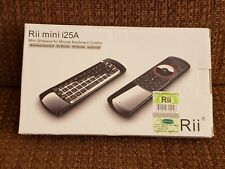 Rii Mini I25A 2.4G Wireless Fly Air Mouse Remote With English Keyboard RT-MWK25A
