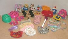 Huge 27pc Lot Build A Bear Accessories: Hats Panties Skates Toys Food Backpack++
