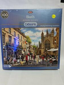 Gibsons G3119 Bath by Richard MacNeil 500 pce jigsaw puzzle BNIB