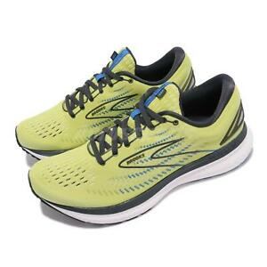Brooks Glycerin 19 Yellow Grey Men Cushion Road Running Shoes 1103561D 734