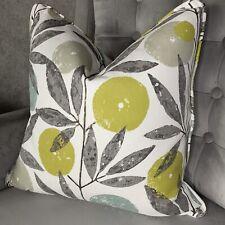"SCION Levande ""Blomma"" Cushion Cover Piped 20"" Designer Home Decor Floral trail"