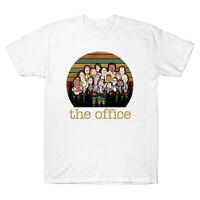 The Office TV Show US Cartoon Funny Vintage Men's T-shirt Retro Cotton Tee