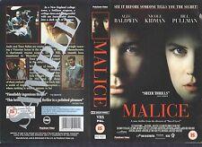 Malice, Nicole Kidman Video Promo Sample Sleeve/Cover #13920