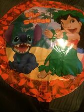 LILO & STITCH FOIL HELIUM BALLOON NEW BALLOONS DISNEY BOY GIRL PARTY PARTIES