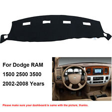 Car Dash Mat For Dodge Ram1500 Ram2500 3500 2002-2008 DashBoard Cover Fly5D
