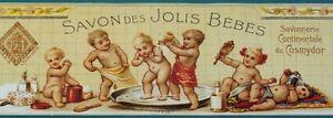 Old French Advertisement / Bathroom  / Bath Products / home decor / Paris, art