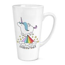 Unicorn Rainbow Power 17oz Grande Latte Macchiato tazza-Divertente
