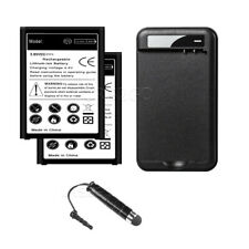 4420mAh Extended Slim Standard 2X Battery Usb/Ac Charger F Lg V10 H901 CellPhone