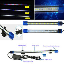 20/30/50cm Blue/White LED Waterproof Aquarium Fish Tank LED Submersible lights