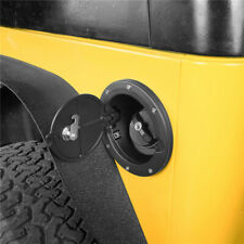 Locking Fuel Gas Gasoline Tank Cap Cover Air Intake For Jeep Wrangler TJ 97-06