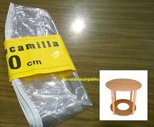 Plastico cubre camilla cristal reforzado de 100 protector para mesa redonda hule