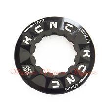 NEW KCNC DISC BRAKE ROTOR LOCK RING AL6061 BIKE BICYCLE, BLACK