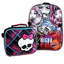 New Monster High Backpack and Lunch Bag Set