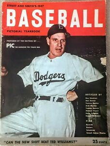 1947 Street and Smith Baseball Pictorial Yearbook Leo Durocher Cover