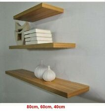3pc Set Floating Wall Mount Shelves Book CD Shop Photo Ornaments Display Shelf