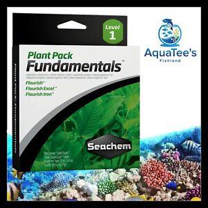 Seachem Plant Pack 3x100ml FLOURISH, EXCEL & IRON Aquarium Plant Fertilizer Set