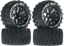 NEW Duratrax Hatchet MT Tires Wheels 2WD Stampede Rustler JAM Front Rear (4)