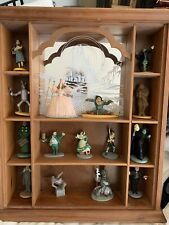 Tge Wizard Of Oz Franklin Mint 1988 Figurines With Case